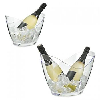 champagnekyl genomskinl