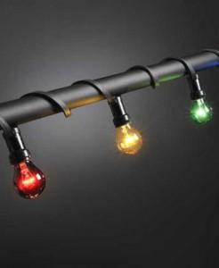 multifärg ljusslinga