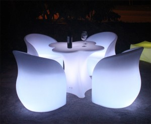 Lounge Table Lotus Led